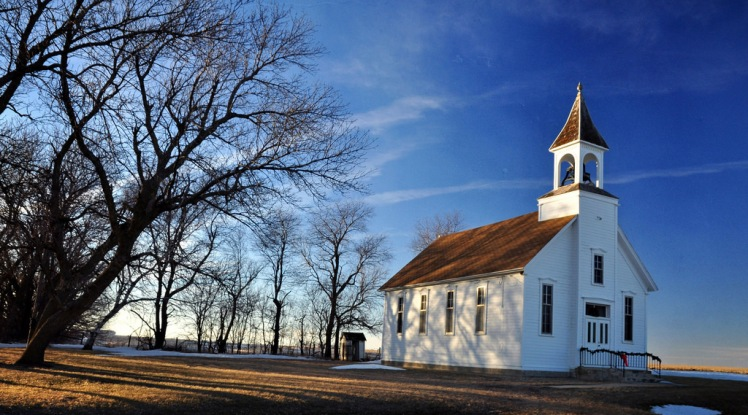 Methodist church in Battle Center, Iowa