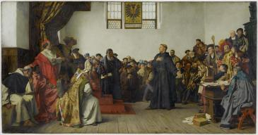 "Werner, ""Luther at the Diet of Worms"""