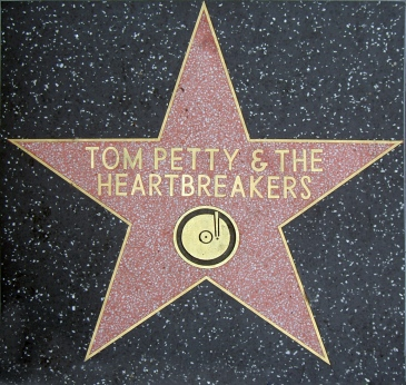 Tom Petty and the Heartbreakers' star on the Hollywood Walk of Fame
