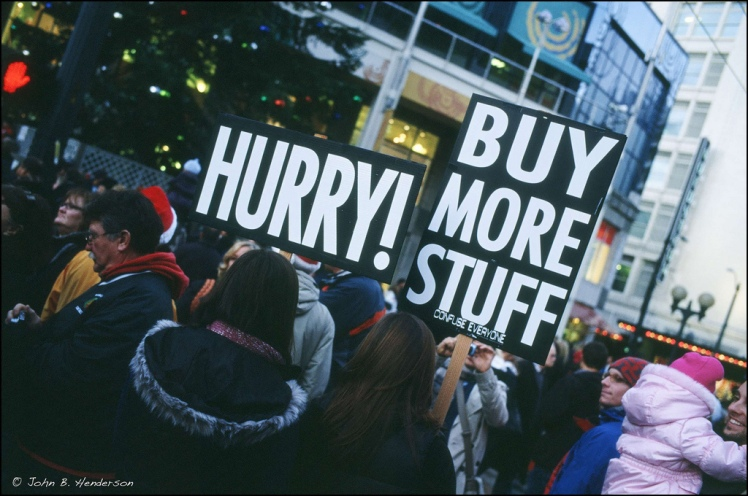 Black Friday protest