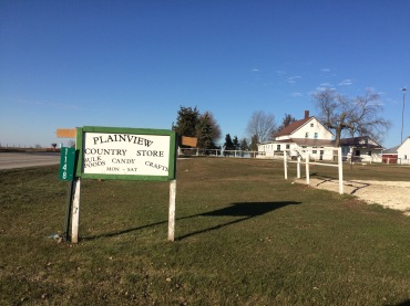 Plainview Country Store - part of the Amish colony near Hazleton, IA