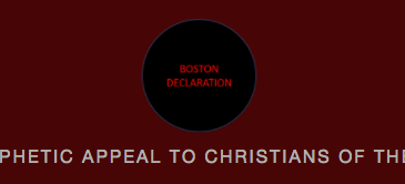 The Boston Declaration home page