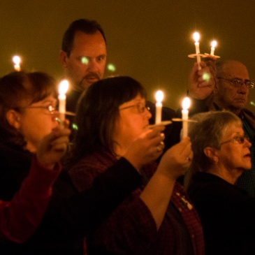 Christmas Eve candlelight service