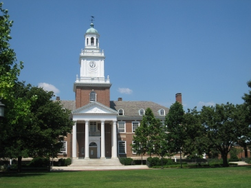Gilman Hall at JHU