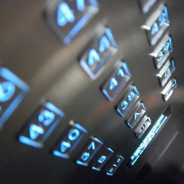 Elevator floor buttons