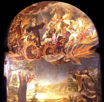 Valdes, Ascension of Elijah