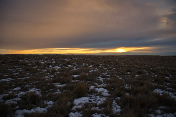 Dawn at the Rio Gallegos