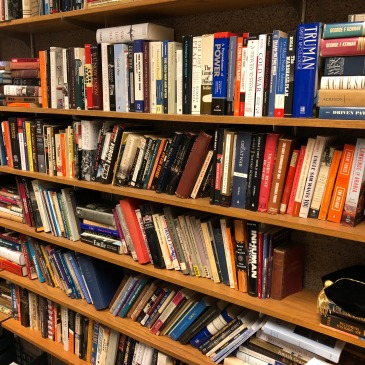 Some of the books in my office