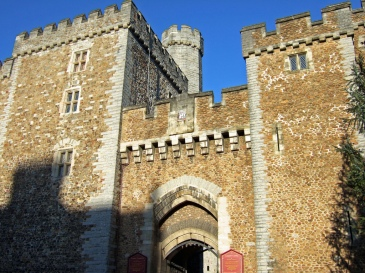 Cardiff Castle's south gate