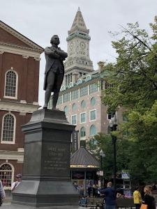 Statue of Samuel Adams in Boston