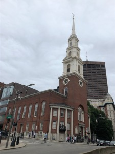 Park Street Church in Boston