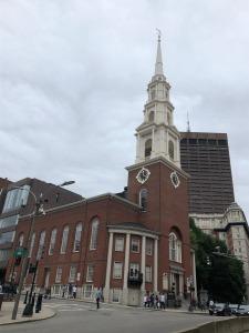 Park Street Church in Boston