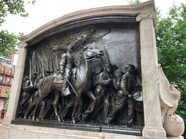 Saint-Gaudens, Shaw (54th Massachusetts) Memorial