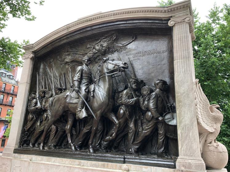Saint-Gaudens, Shaw (54th Massachusetts) Memorial