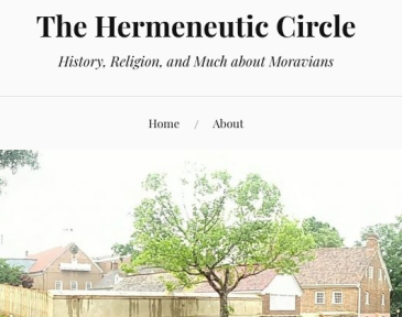 Screen shot of The Hermeneutic Circle