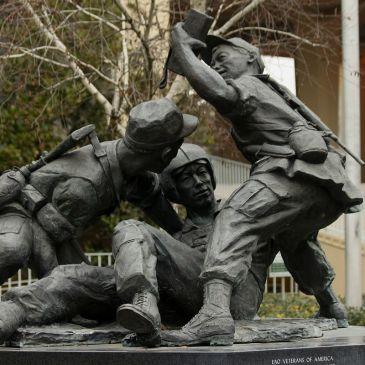 Hmong memorial in Fresno, CA
