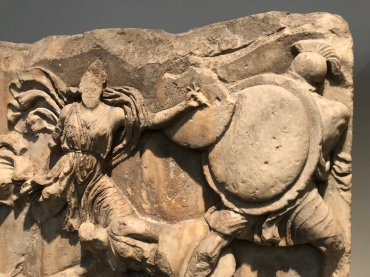 Frieze from the Museum at Halicarnassus