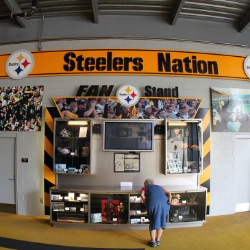 Steeler Nation display at Heinz Field