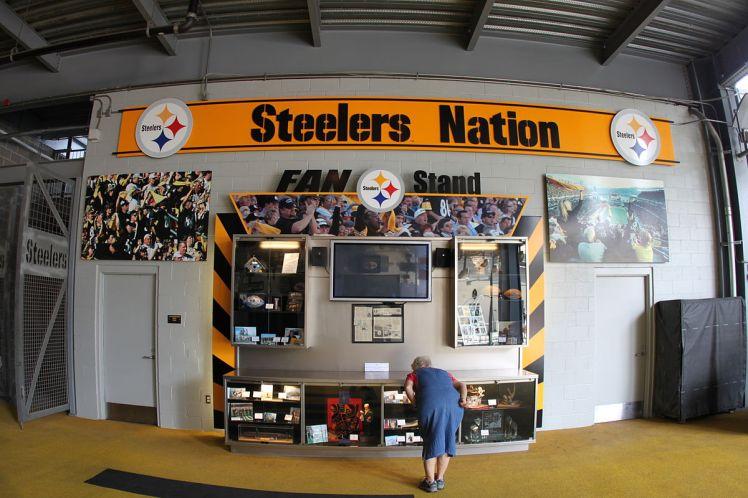 Steeler Nation display at Heinz Field