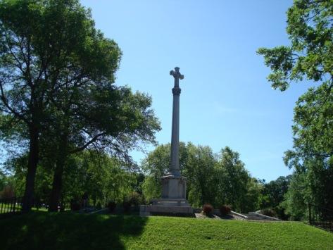 Ramsey County War Memorial cross