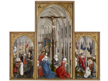 "Van der Weyden, ""The Seven Sacraments Altarpiece"""
