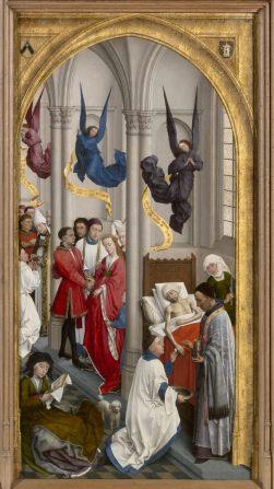 "Right panel of van der Wyden, ""Seven Sacraments"""