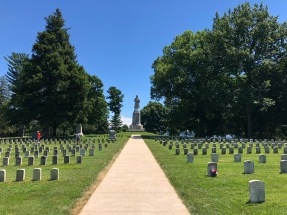 Antietam National Cemetery is the final resting place for almost 5,000 men