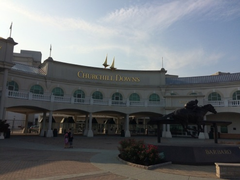 Entrance of Churchill Downs
