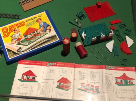 Bayko building set from WWII era