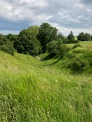 As the battle of the Somme began on July 1, 1916, German troops emerged from bunkers in this ravine