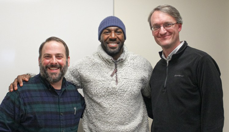Chris Moore, Greg Jennings, and Chris Gehrz