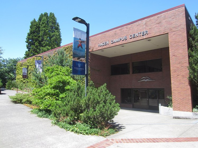 Campus Center at Concordia University in Portland, OR