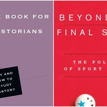 Covers of McKenzie, Little Book for New Historians and Cha, Beyond the Final Score