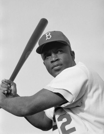1954 photo of Jackie Robinson - Library of Congress