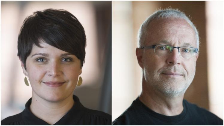 Amanda Hamilton and Wayne Roosa
